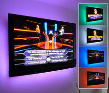 Multi-colour USB RGB LED Strip Light TV Background Lighting With IR Controller