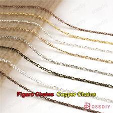 5 meters Chain width:2.5MM Copper Figaro Chains Special Necklace Chains 20260