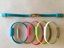 Stylish bracelets data line charching micro usb cable for Samsung,HTC,Blackberry