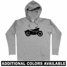 Vintage Motorcycle Hoodie - Classic Moto Bike Biker Retro Cafe Racer - Men S-3XL