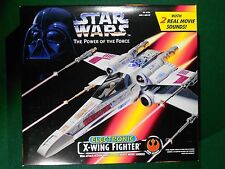 Star Wars POTF 2 1995 X-Wing Fighter – MIMB - Red Box - Action Vehicle