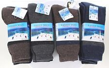 New 3 6 12 Pair Men's Super Warm Rabbit Wool Crew Thermal Thick Socks Size 10-15