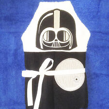 In-The-Hoop HOODED TOWEL * VADER * Machine Embroidery Patterns * 5x7in hoop