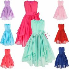 Lace Flower Girl Baby Dress Princess Vintage Special Occasion Party Wedding 1-10