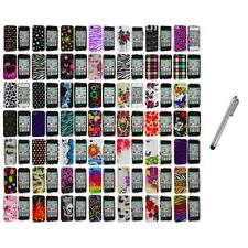 Design Color Hard Snap-On Skin Case Accessory+Metal Pen for iPhone 4 4G 4S