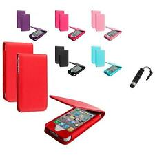 For Apple iPhone 4 4S Wallet Pouch Flip Magnetic Case Cover  Stylus Plug