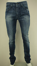 MENS GIO GOI MANTA WASH/DARK BLUE SKINNY FIT DENIM JEANS STYLE: DURITTI SIZE 32L
