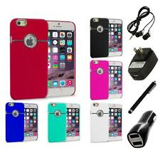 For iPhone 6 Plus (5.5) Hard Deluxe Chrome Rear Slim Case Cover 4X Accessories