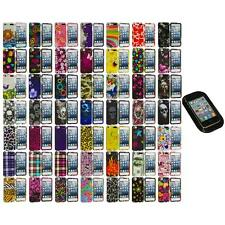 Design Hard Snap-On Rubberized Case Cover+Sticky Pad for iPod Touch 5th Gen 5G