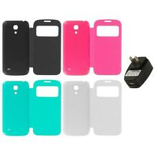 For Samsung Galaxy S4 Mini Back Slim Battery Door Cover Case Wall Charger