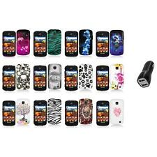 For Samsung Proclaim S720C Illusion Color Hard Design Case Cover+2.1A Charger