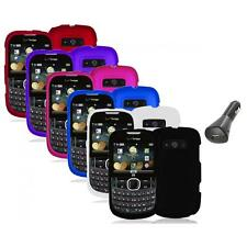Color Hard Snap-On Skin Case Cover+Car Charger for ZTE Adamant F450 Accessory