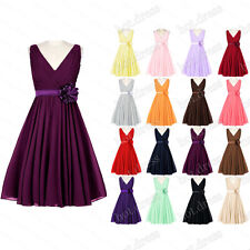 New Stock Formal Prom Dress Party Evening Cocktail Gowns Short Bridesmaid Dresse