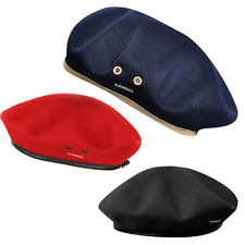 NEW Kangol Monty Tropic Military Beret 0284KG BLACK RED NAVY