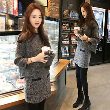nAutumn winter Korean fashion Elegant Package buttocks woolen short suit skirt