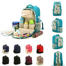 New Baby Pad Diaper Nappy Changing Mother Mummy Backpack Shoulder Bag Handbag