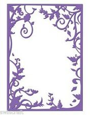 """COUTURE CREATIONS Embossing Folder HARMONY COLLECTION 5"""" X 7"""" SALE CLEARANCE"""