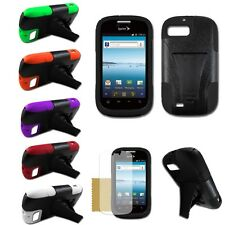ZTE Fury N850 Valet Z665C Director Hybrid Dual Armor Cover Case T-Stand Colors