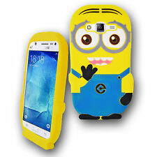 3D Despicable Me Minion Silicone Gel Case Cover 4 Various Samsung Galaxy Models