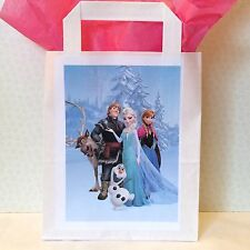 8 x Disney Frozen Party Loot Bags Paper Recyclable Party Supplies