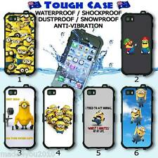 Tough Waterproof CASE Phone COVER HD Minions Fun Collection 24