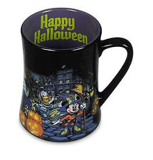 Disney Store Mickey Minnie Donald Daisy Goofy Halloween Coffee Mug 16oz Cup NEW