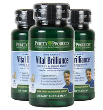 Vital Brilliance Energy & Endurance with Rhodiola Rosea by Purity Products