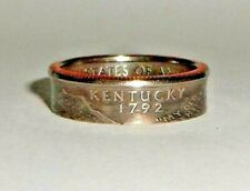 KENTUCKY  US STATE QUARTER handcrafted coin ring or pendant size 4-14