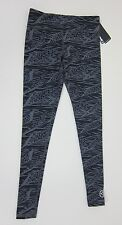 Zumba Funky Long Legging - Go for Gunmetal - NWT