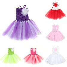 0-5 Years Newborn Baby Toddler Infant Girls Party Chiffon Tutu DressMulti-Colors