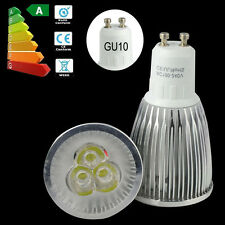 9W Epistar LED GU10 Bulb Warm Cool Lamp Spot Light Save Energy Bright Bulbs 3x3W
