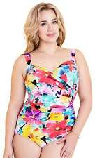 Miraclesuit Swimwear Fuller Figure Lovely Lady Sanibel 18-20, extra firm control