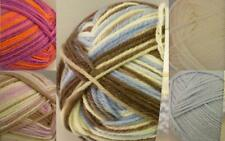 50g PATONS FAIRYTALE  DREAMTIME 4PLY PURE WOOL  BABY KNITTING YARN one flat P&P