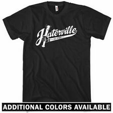 Haterville T-shirt - Hip-Hop Rap Chicago Haters Gonna Hate Rapper - Men S-4XL