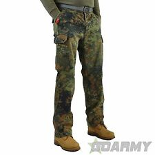 Vintage German Army Camo Combat Trousers