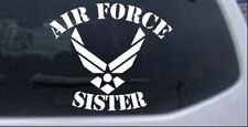 Air Force Sister Car or Truck Window Laptop Decal Sticker