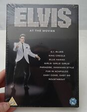 ELVIS AT THE MOVIES- 8DVD BOXSET-SEALED- RARE! ELVIS PRESLEY