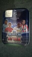 Match Attax Champions league 2015/16 Tin +70 cards (15 shiny) + Limited edition