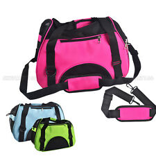 Portable Puppy Dog Cat Pet Tote Carry Carrier House Kennel Cage Travel Bag L S