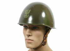STEEL MILITARY HELMET1 COLD WAR WARSAW PACT POLISH ARMY wz67/75 POLAND