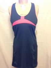Fila Platinum Active Tennis Dress  Charcoal Grey 15150043 NWT