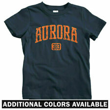 Aurora 303 Colorado Kids T-shirt - Baby Toddler Youth - Denver Broncos Rockies