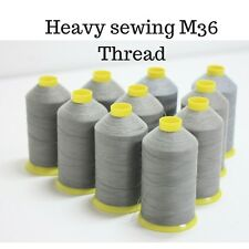 Heavy duty sewing machine thread M36 Upholstery/Leather Lt Grey/Beige 4000M
