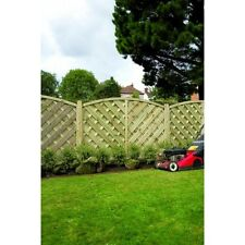 Grange 4ft High Wooden Elite St Lunairs Garden Fence  Panel 1.2m (4 or more)