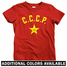 CCCP Star Kids T-shirt - Baby Toddler Youth Tee - USSR Soviet Union Russia Retro