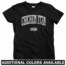 Chichen Itza Mexico Kids T-shirt - Baby Toddler Youth Tee - Yucatan Mayan Temple