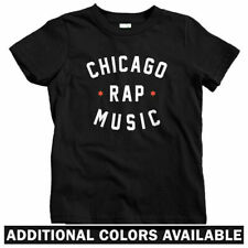Chicago Rap Music Kids T-shirt - Baby Toddler Youth Tee - Drill Hip-Hop Rapper