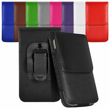 Vertical Belt Large Tab Pouch Case For LG Duble Play