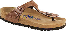 Birkenstock BF Gizeh $179rrp Magic Galaxy Bronze SOFT FOOTBED BNIB
