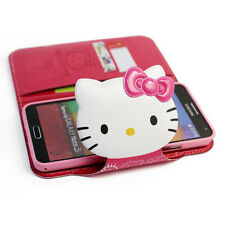 Hello Kitty iPhone 5/5s Case Wallet Cover Clutch Made Korea Face Lock 5 Colors